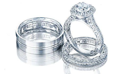 Tacori Classic Crescent Engagement Rings