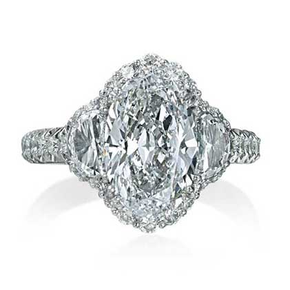 moissanite pinterest big large best breanleen stone engagement on images rings
