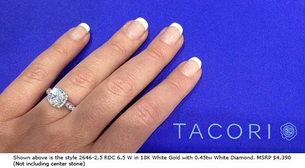 new tacori dantela varietal engagement ring collection