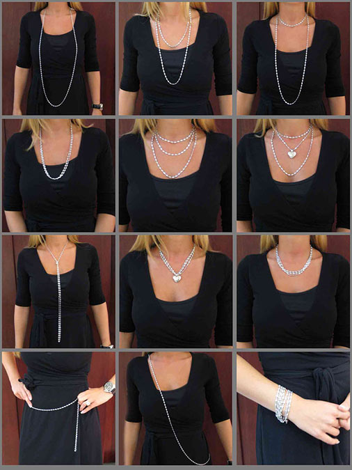 Ways to Wear a Necklace